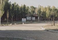 Acceso al área recreativa en 2004.